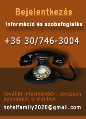 Keressen bennünket telefonon vagy e-mailben
